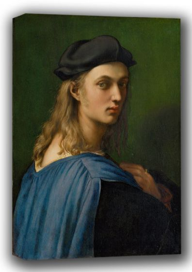 Raphael: Portrait of Bindo Altoviti. Fine Art Canvas. Sizes: A4/A3/A2/A1 (001934)